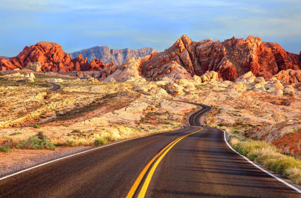 valley of fire, nevada - red rocks stock pictures, royalty-free photos & images