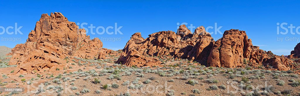 Valley Of Fire State Park In Nevada royalty-free stock photo
