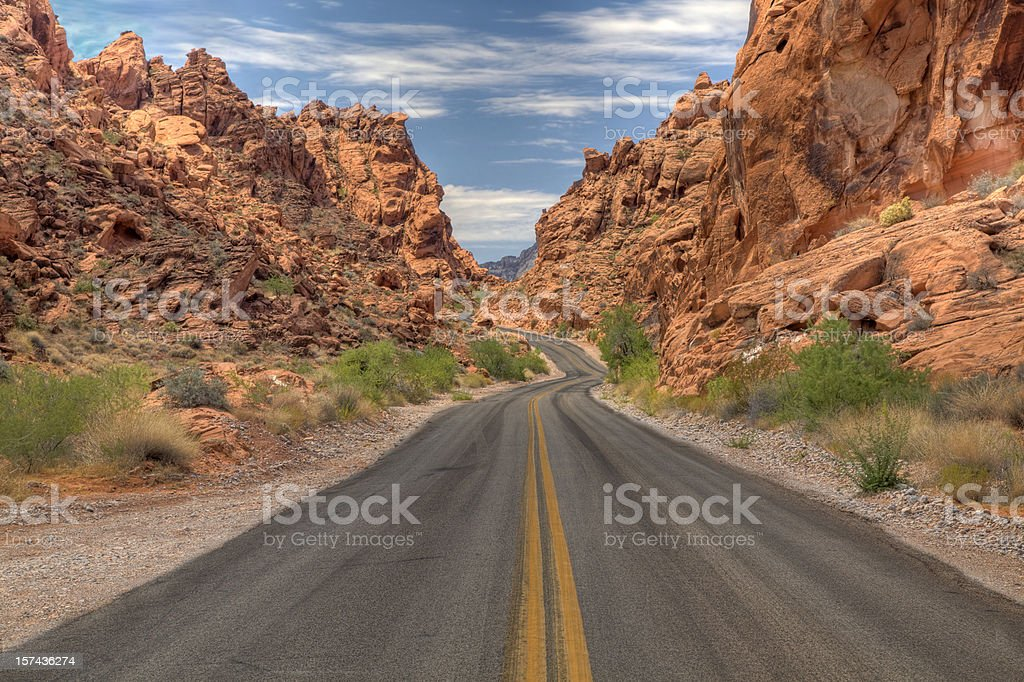 Valley of Fire. State Park, Nevada royalty-free stock photo