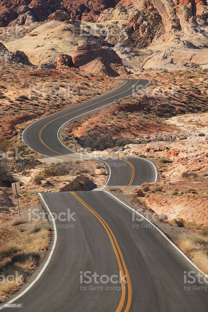 Valley of Fire State Park, NV royalty-free stock photo
