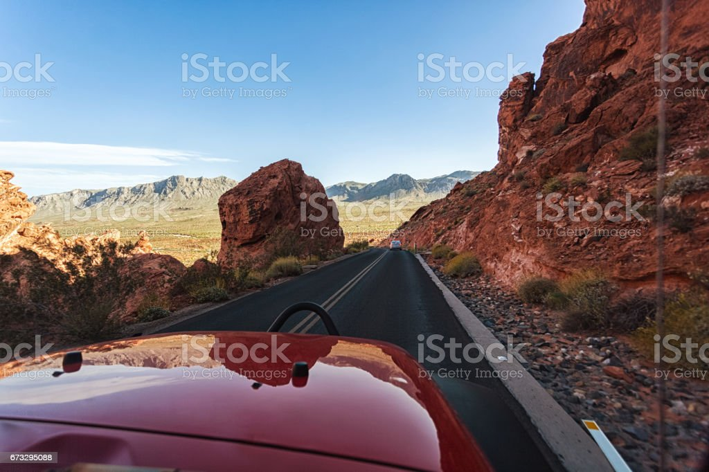 Valley of Fire State park royalty-free stock photo