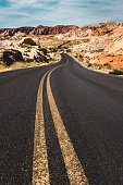 valley of fire state park road