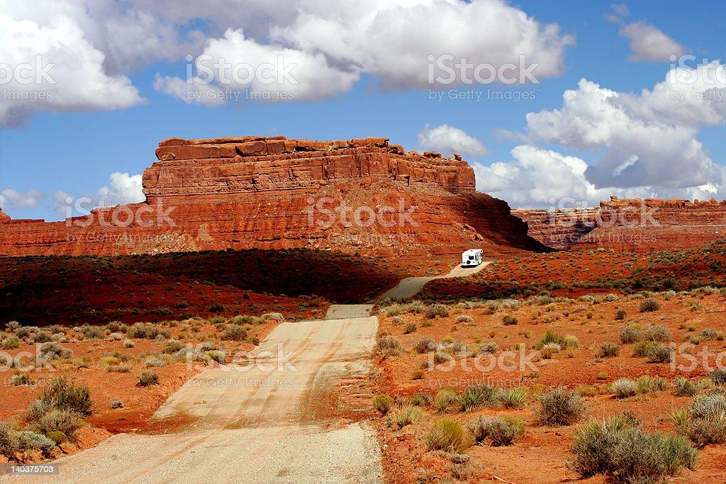 Valley of Gods, Utah royalty-free stock photo
