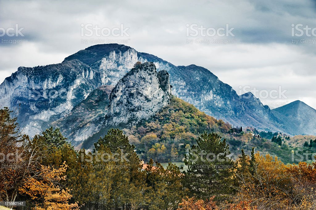 Valley of Saou, France royalty-free stock photo