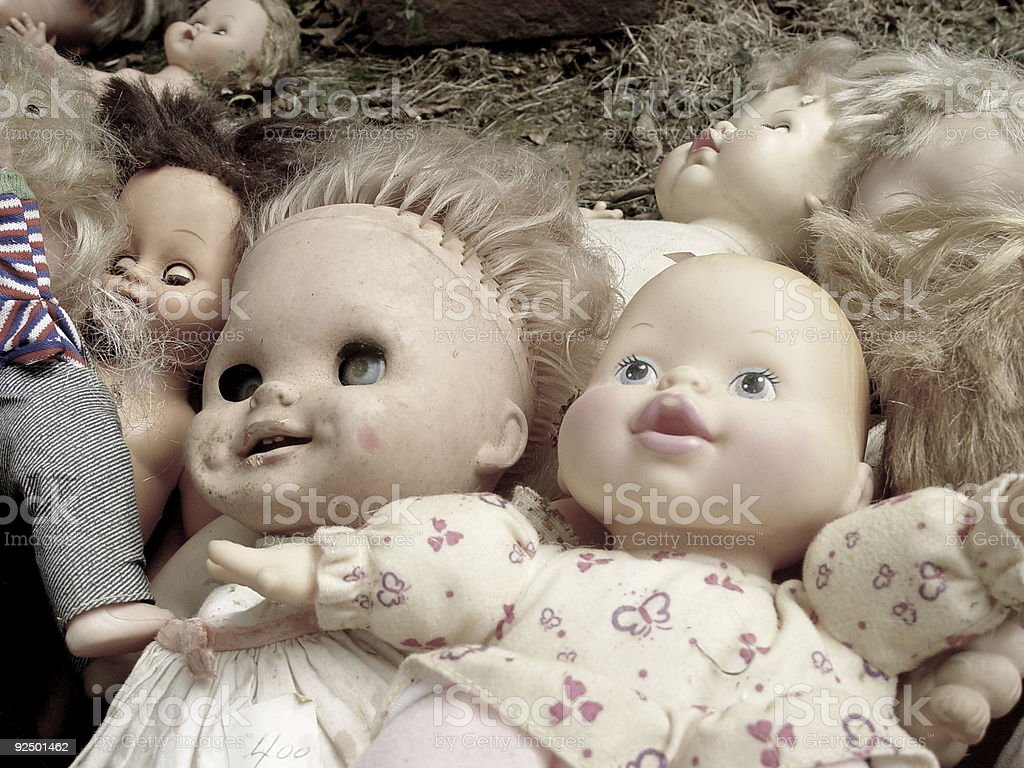 Valley of the dolls royalty-free stock photo