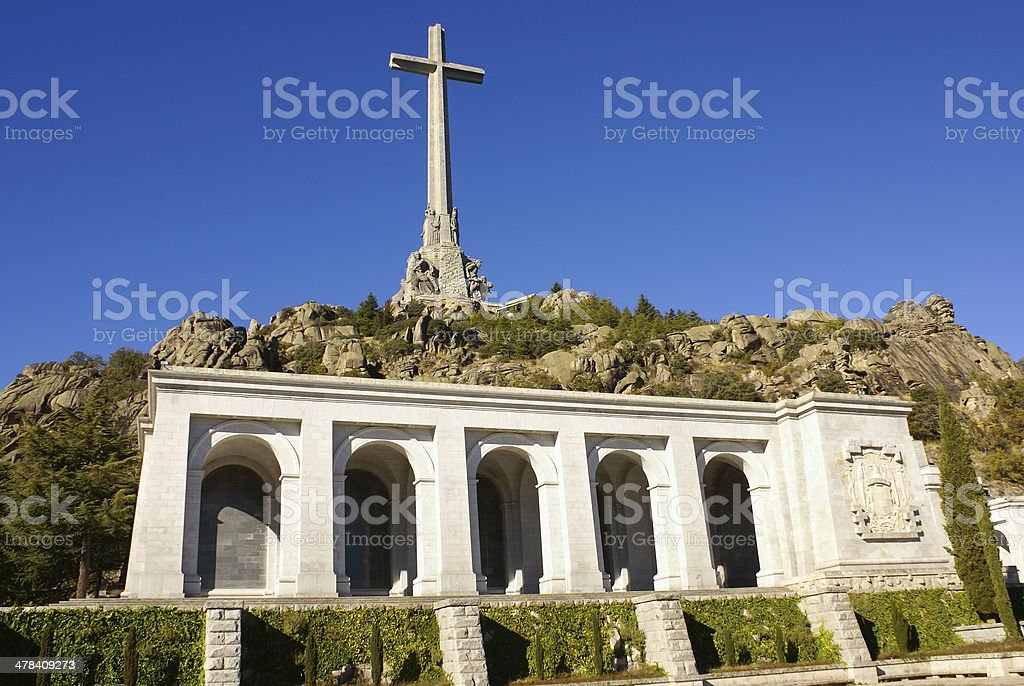 Valley of the Fallen (Valle de los Caidos) Madrid, spain stock photo