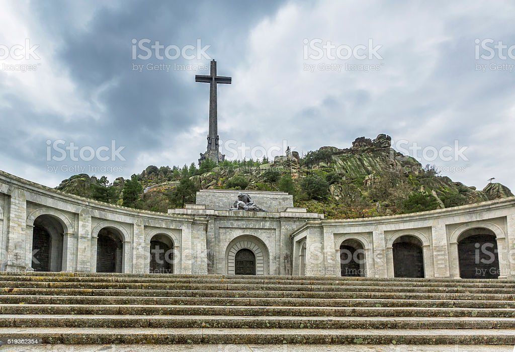 Valley of the Fallen (Valle de los Caidos), Madrid, Spain. stock photo