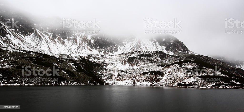 Valley Of The Five Ponds, Tatra Mountains, Poland, November