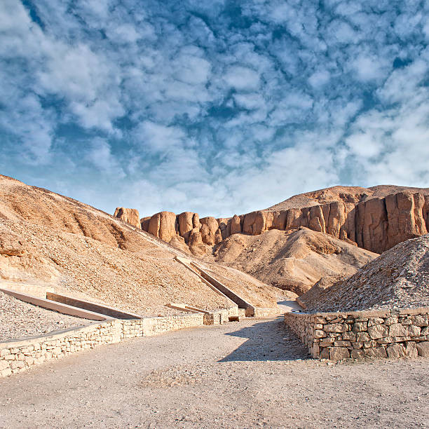 Valley of the kings, Egypt. Image of the valley of the kings in Luxor, Egypt. valley of the kings stock pictures, royalty-free photos & images