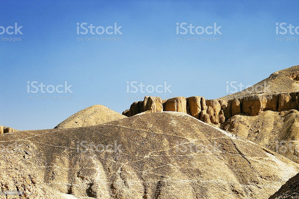 Valley of the Kings royalty-free stock photo