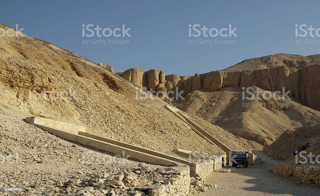 Valley of the Kings Lizenzfreies stock-foto