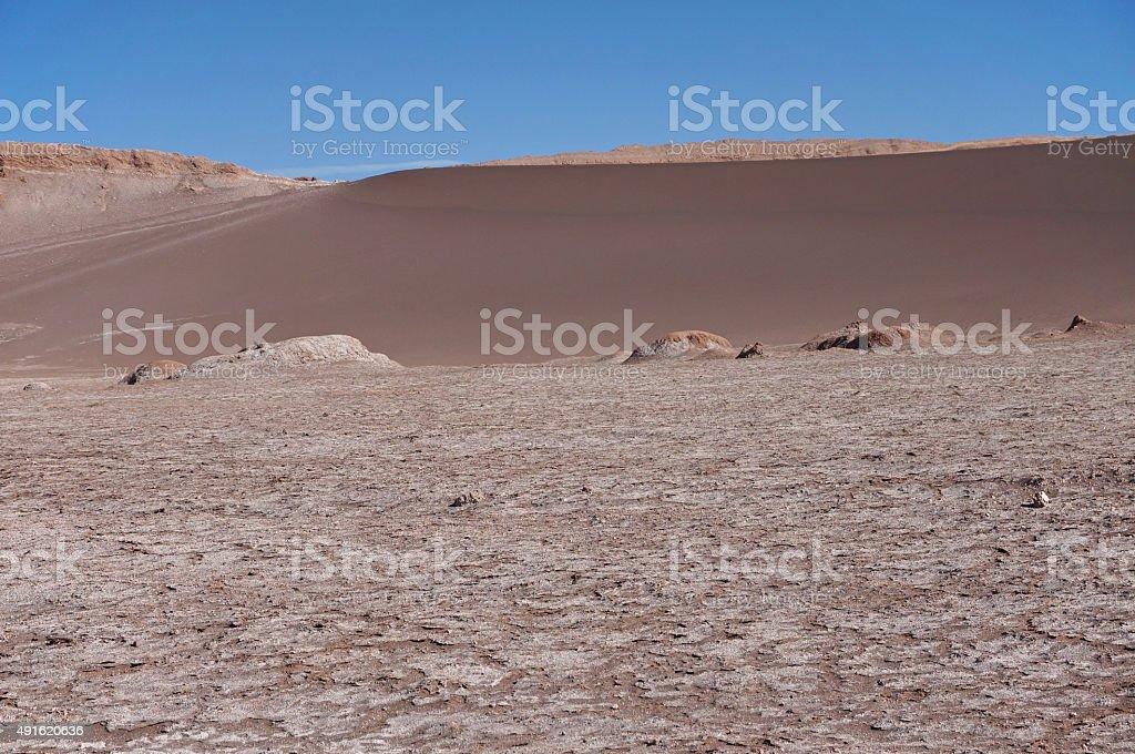 Valley of the Moon, Atacama, Chile stock photo