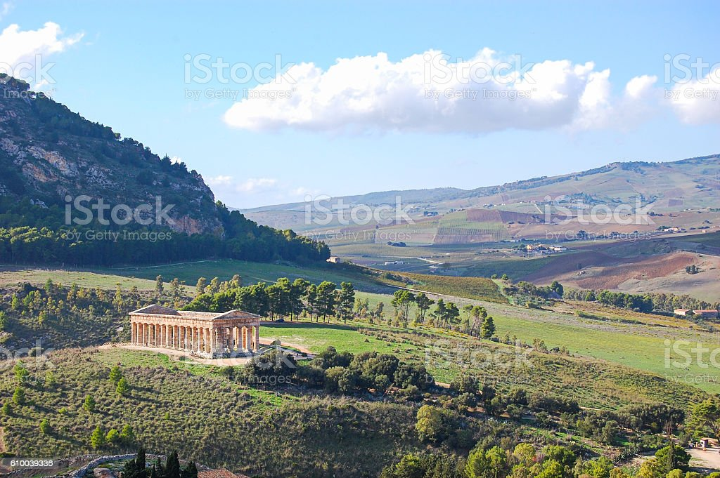 Valle dei templi di Agrigento - foto stock