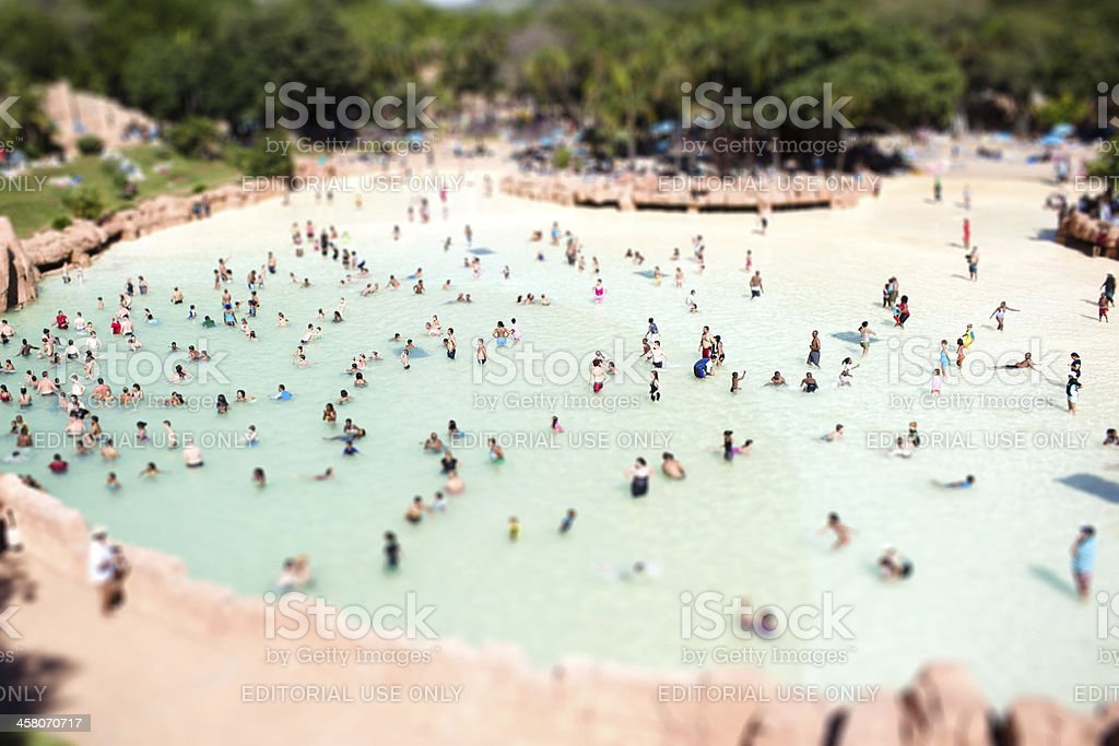 Valley of Waves stock photo