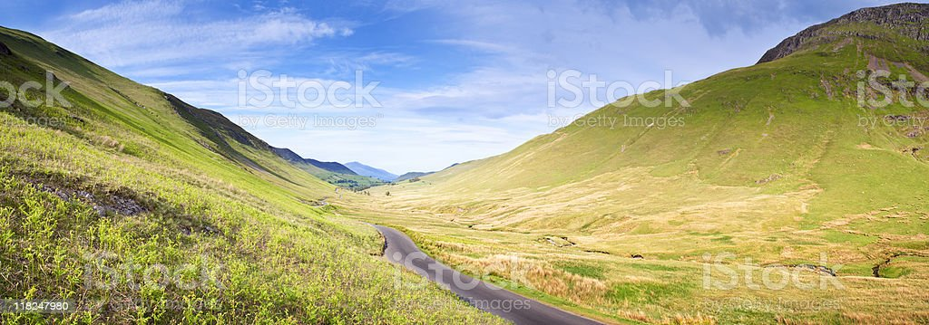 Valley. royalty-free stock photo