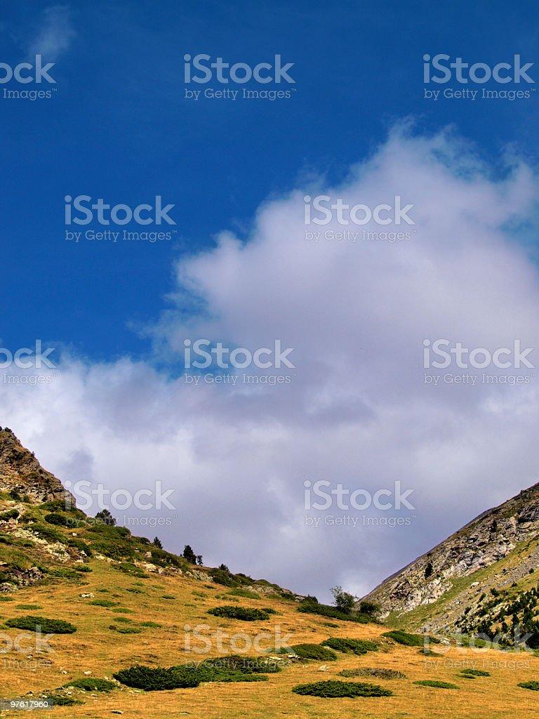 Valley royaltyfri bildbanksbilder