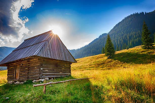 Valley - Tatra Mountains stock photo