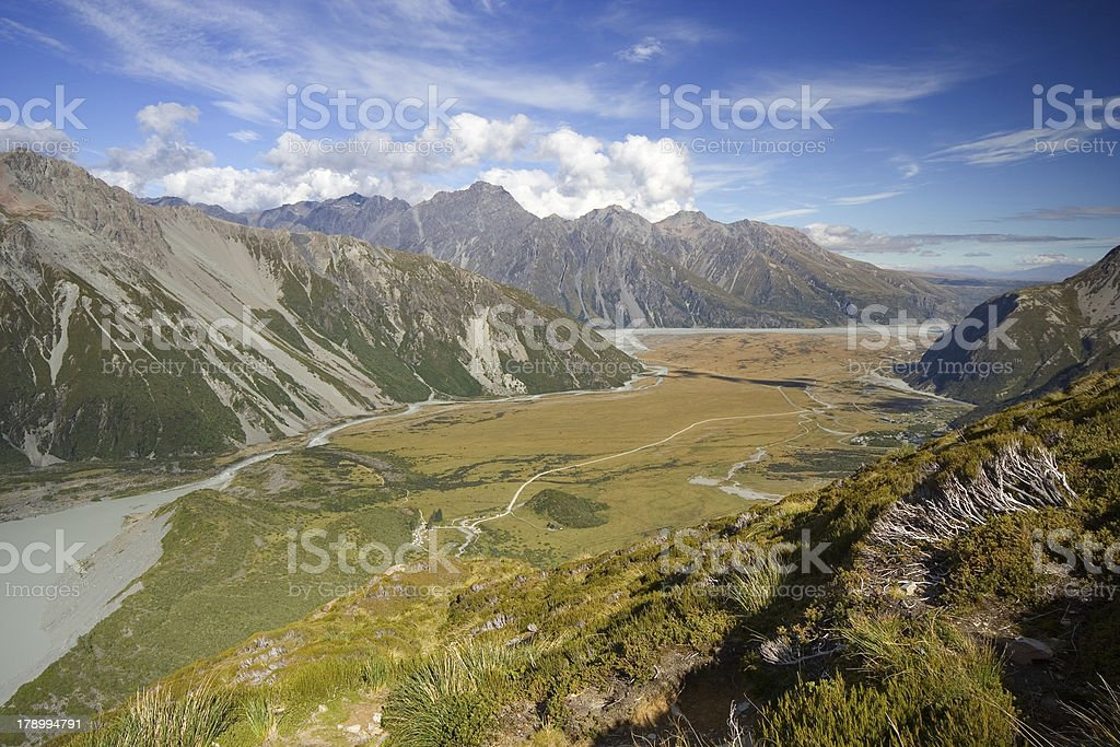 Valley View royalty-free stock photo