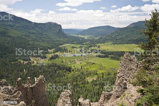 Valley view south of Wolf Creek Pass