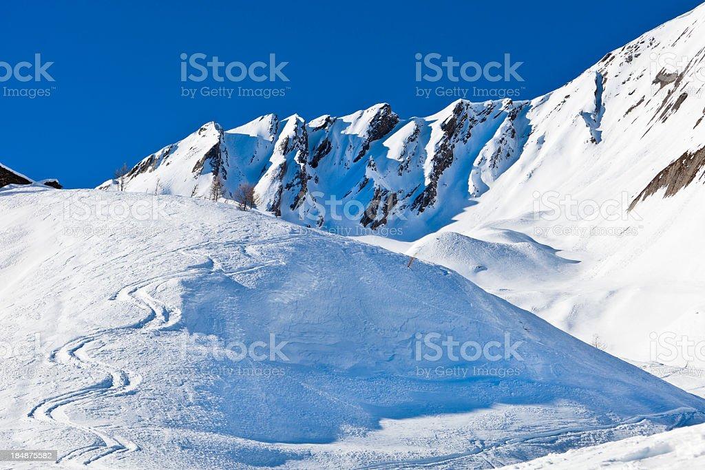 Vallone di Serena, Aosta Valley, Italy royalty-free stock photo