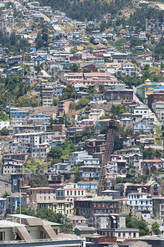Valparaiso, Chile royalty-free stock photo