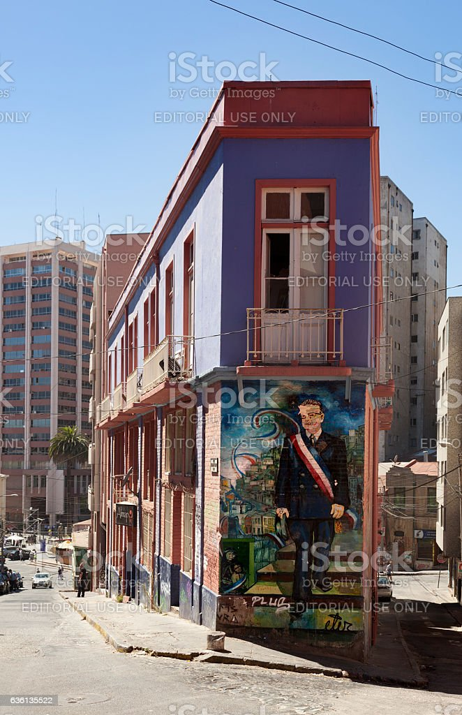 Valparaíso City, Chile stock photo