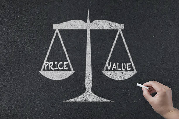 value and price concept value and price concept miserly stock pictures, royalty-free photos & images