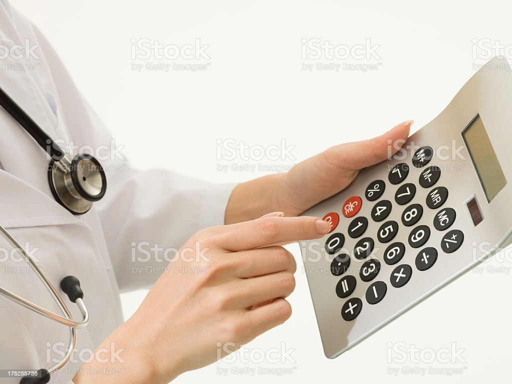 Value of the medical care. royalty-free stock photo