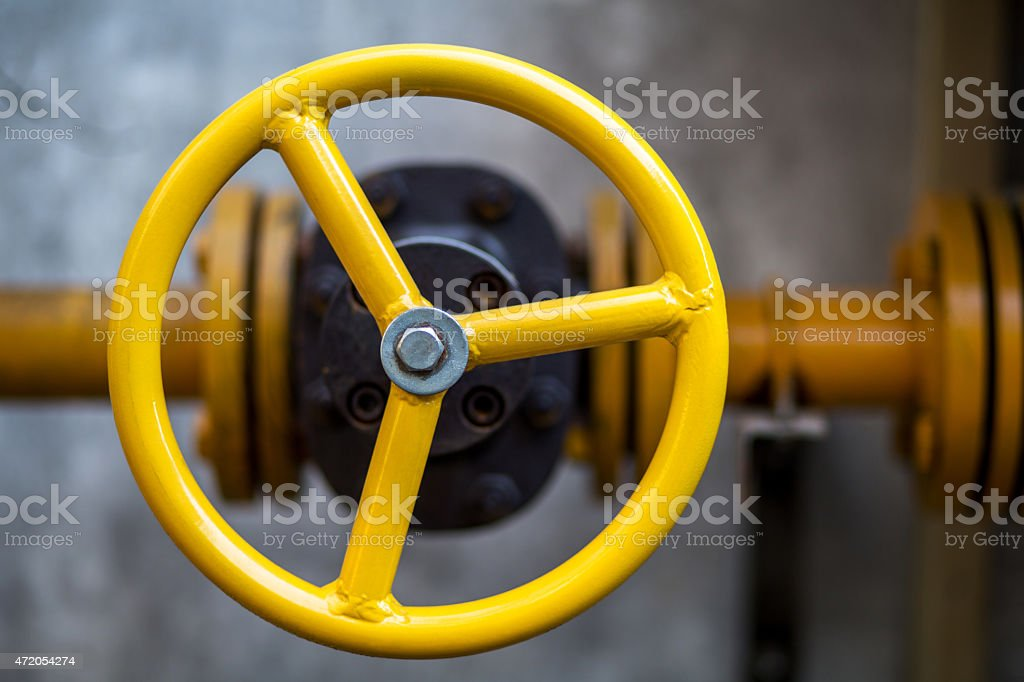 valve wheel stock photo