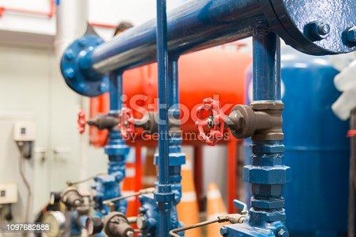 istock Valves Water pump 1097682888
