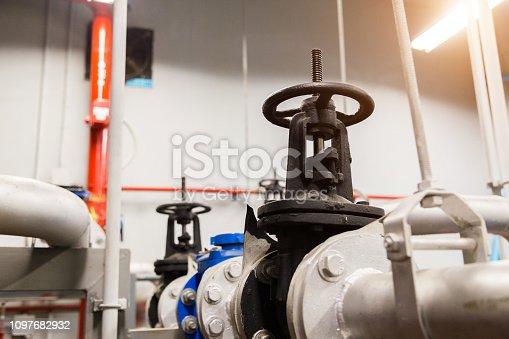 istock Valves Water pump 1097682932