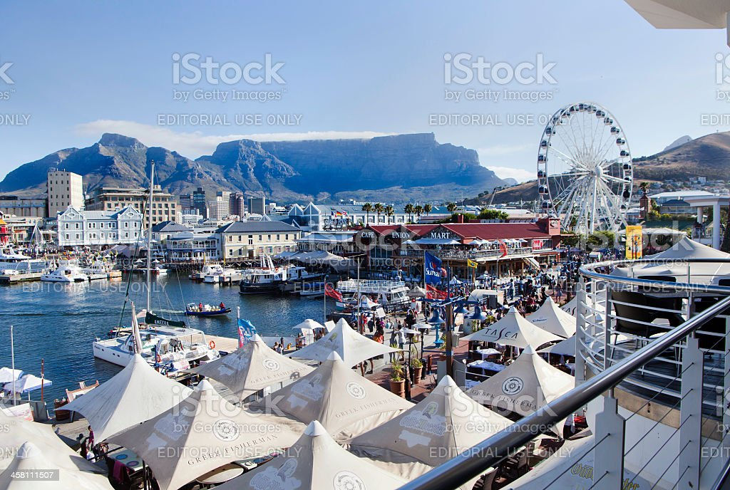 V&A Waterfront, Cape Town stock photo