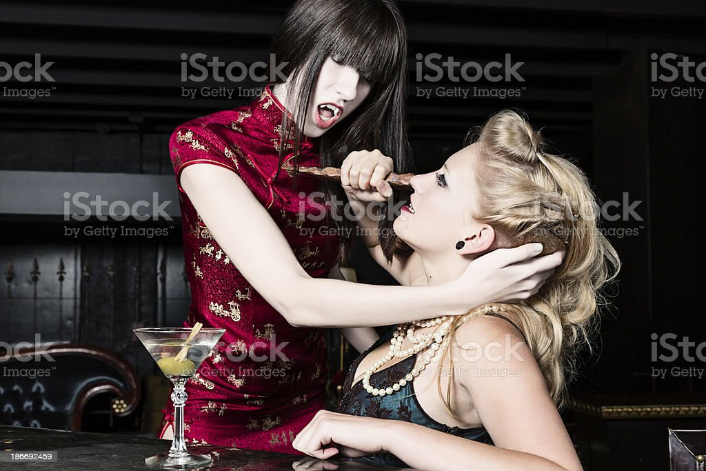 Vampire Attack stock photo