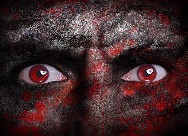 vampir gesicht - plants of zombies stock-fotos und bilder