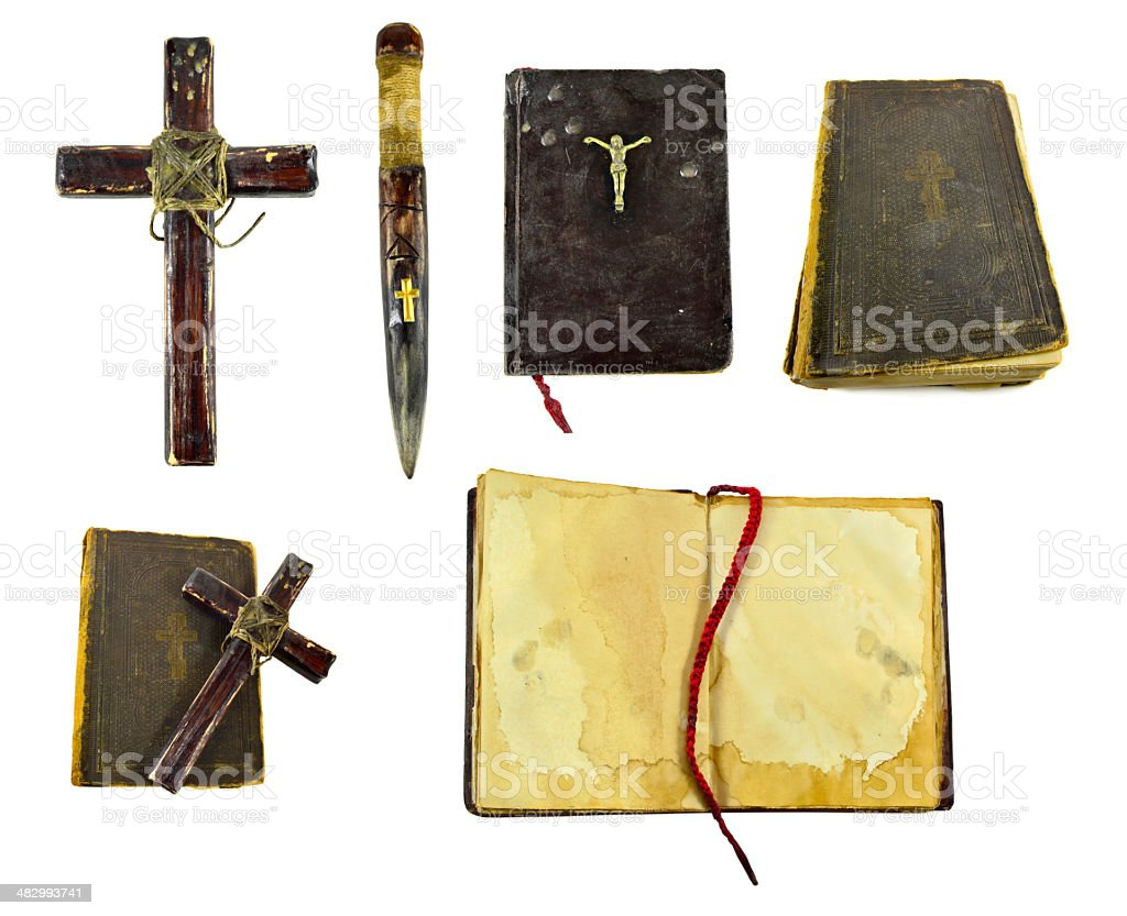 Vampire killer collection stock photo