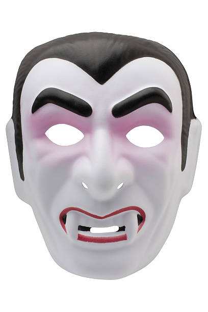 vampir maske (xl - graf dracula stock-fotos und bilder