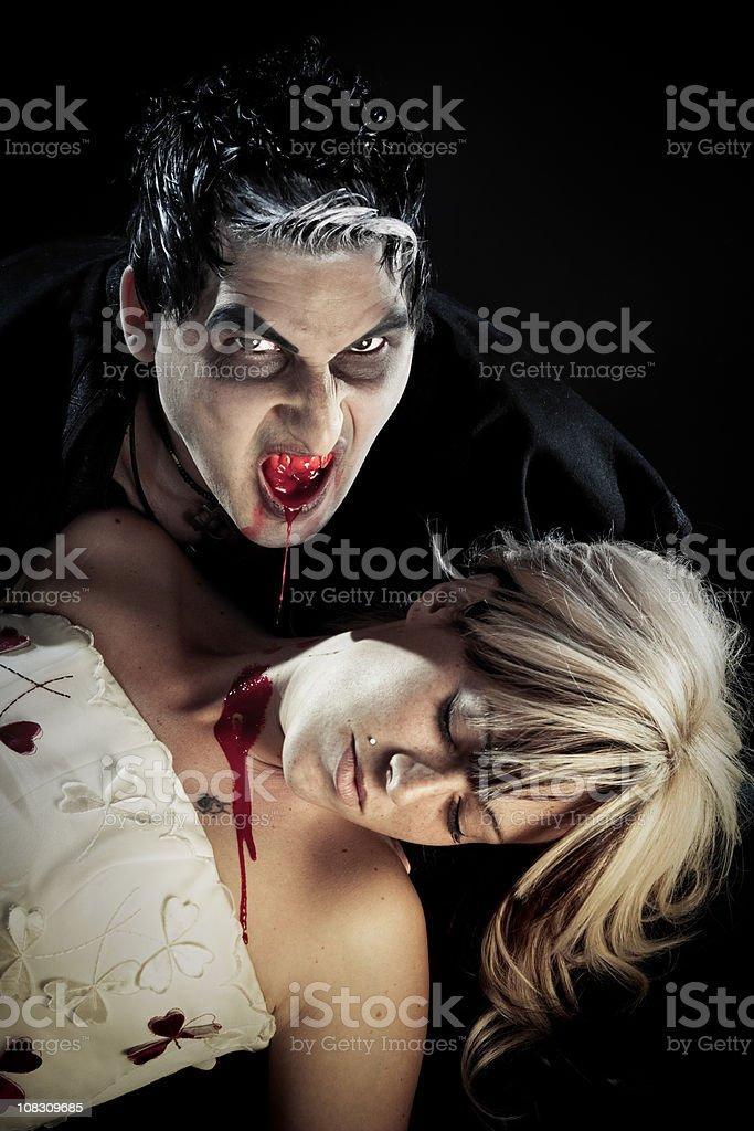 Vampire. royalty-free stock photo