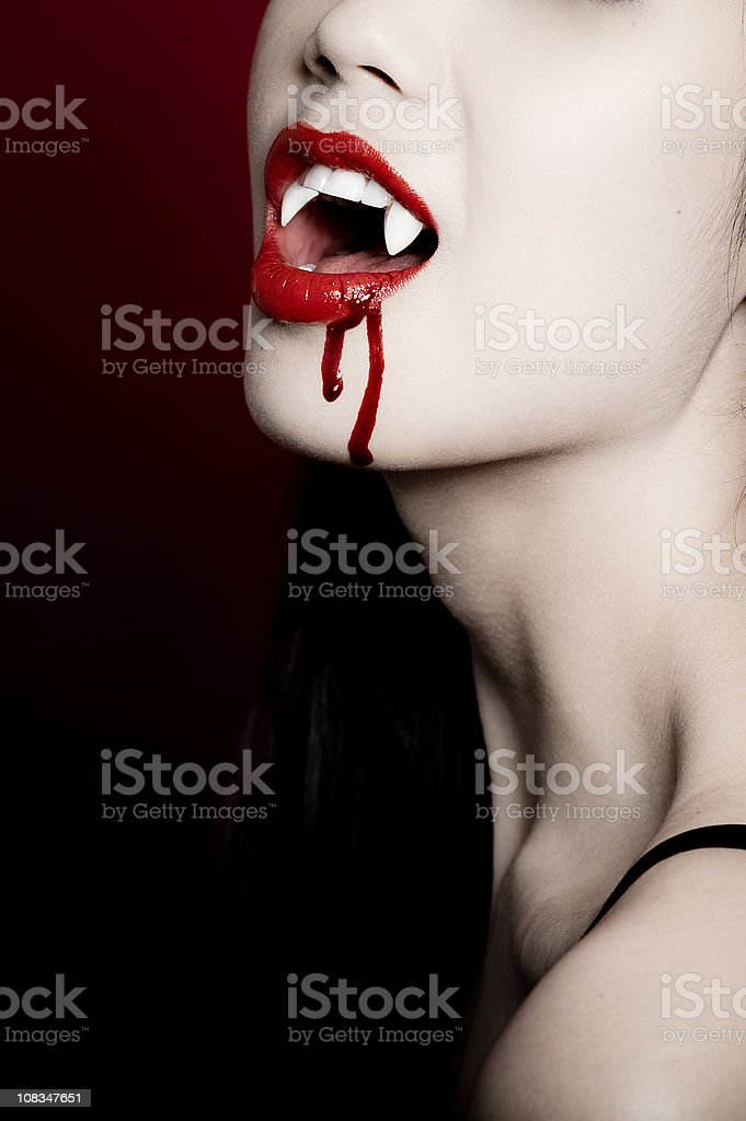 Vampire  Adult Stock Photo