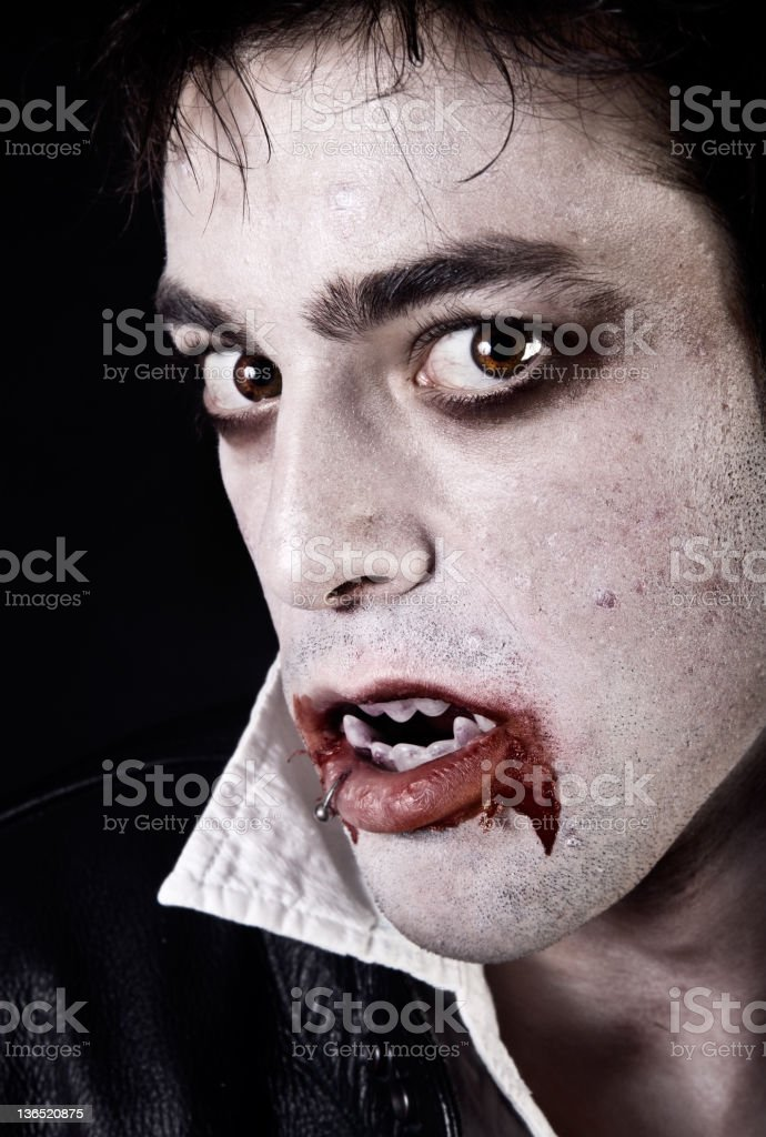 Vampire royalty-free stock photo