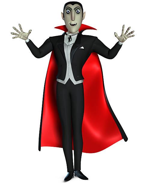 vampir - cartoon kostüme stock-fotos und bilder
