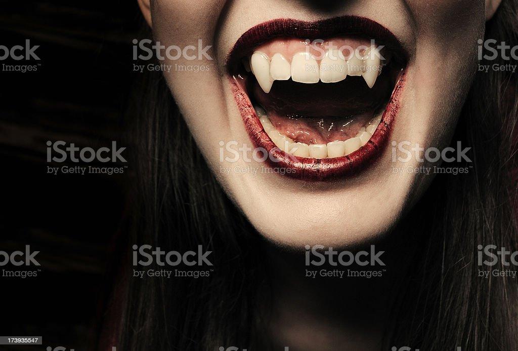 Vampire series stock photo