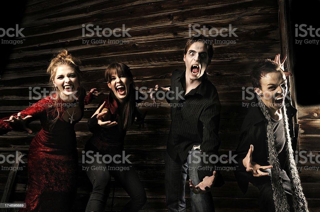 Vampire series royalty-free stock photo