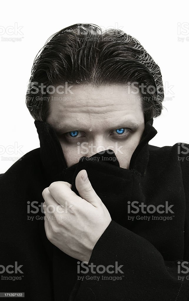 Vampire - Wrapped Up stock photo