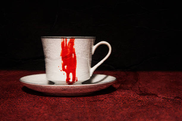 Vampire's Tea stock photo