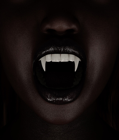 Vampires Woman3d Illustration Stock Photo - Download Image Now