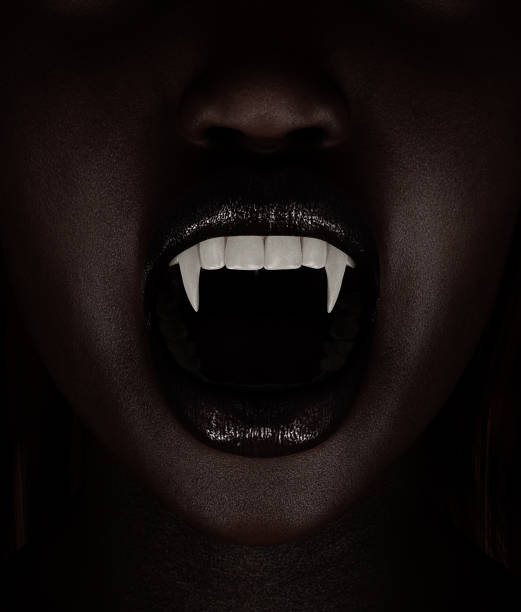 Vampire's woman,3d illustration Vampire's woman,3d illustration fang stock pictures, royalty-free photos & images