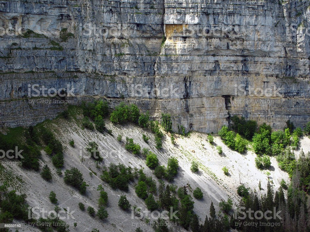 Creux du Van 3, Jura mountains, Switzerland stock photo