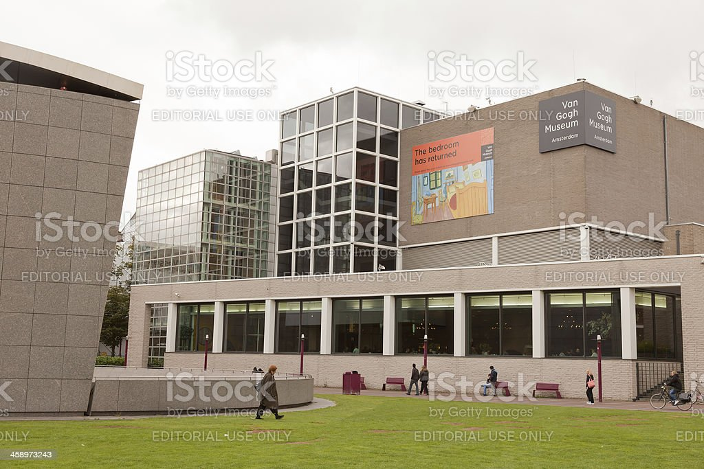 Van Gogh Museum Amsterdam royalty-free stock photo