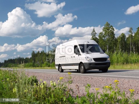 istock van on country highway 118428838
