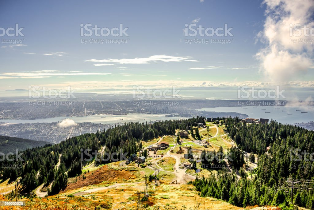 Vancouver und Grouse Mountain – Foto